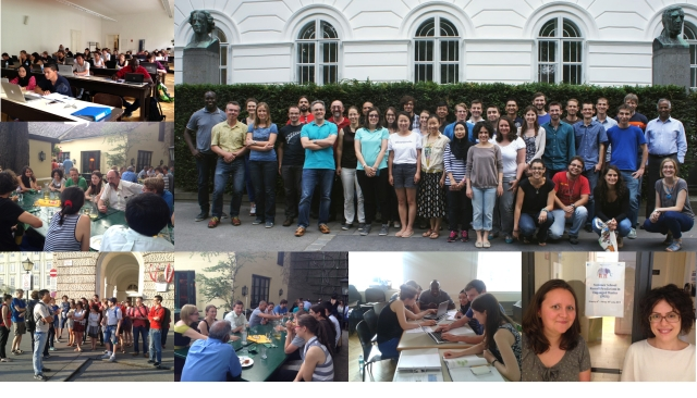 Fig. 4. Impressions from the PUB Summer School.